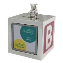 VICCI 53041 Silver Plated Money Box